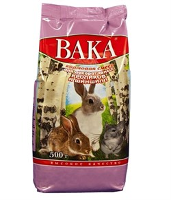 Вака корм для кроликов и шиншил - фото 4951