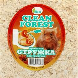 Опилки Клин Форест для грызунов (стружка хвойных пород), 20 л - фото 6048