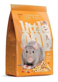 Little One корм для крыс - фото 6203