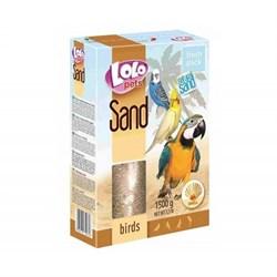 Lolo Pets песок для птиц с ракушками - фото 6642