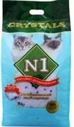 № 1 Crystals Наполнитель для туалета кошек силикагель
