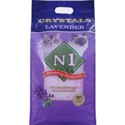 № 1 Crystals Lavender Наполнитель для туалета кошек силикагель с ароматом Лаванды
