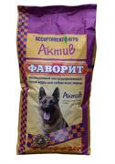 Фаворит Актив сухой корм для собак всех пород от 8 месяцев до 7 лет, 13 кг