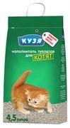 КУЗЯ Минеральный наполнитель для котят, 4,5 л