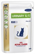 Royal Canin пауч Urinary S/O при МКБ с курицей, 100 г