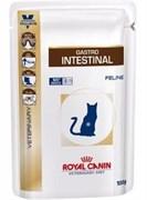Royal Canin пауч Gastro Intestinal пауч, диетический корм для кошек, 100 г
