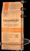 Grandorf ягненок с рисом для юниоров, низкозерновой