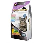 Ночной охотник сухой корм для стерилизованных кошек и кастрированных котов, 10 кг