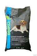 Биско Супер Премиум для взрослых средних/крупных активных собак, Говядина