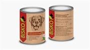 Биско консервы для собак с молочным ягненком, 750 г