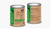 Биско консервы для собак с диетической индейкой, 750 г