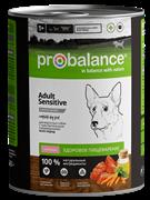 Probalance Консервы для собак с ягненком Adult sensitive