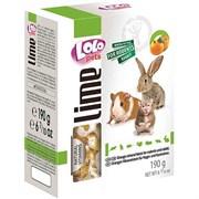 LoLo Pets Минеральный камень для грызунов с апельсинами XL