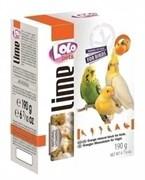 Lolo Pets минеральный камень для птиц с апельсином